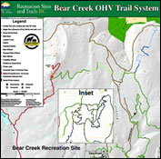 off road trail maps