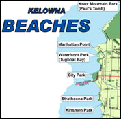 Beaches Map