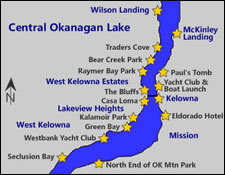 Okanagan Lake Central Boating