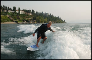 Wakesurfing Kelowna